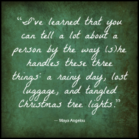 Maya Angelou Quote patience