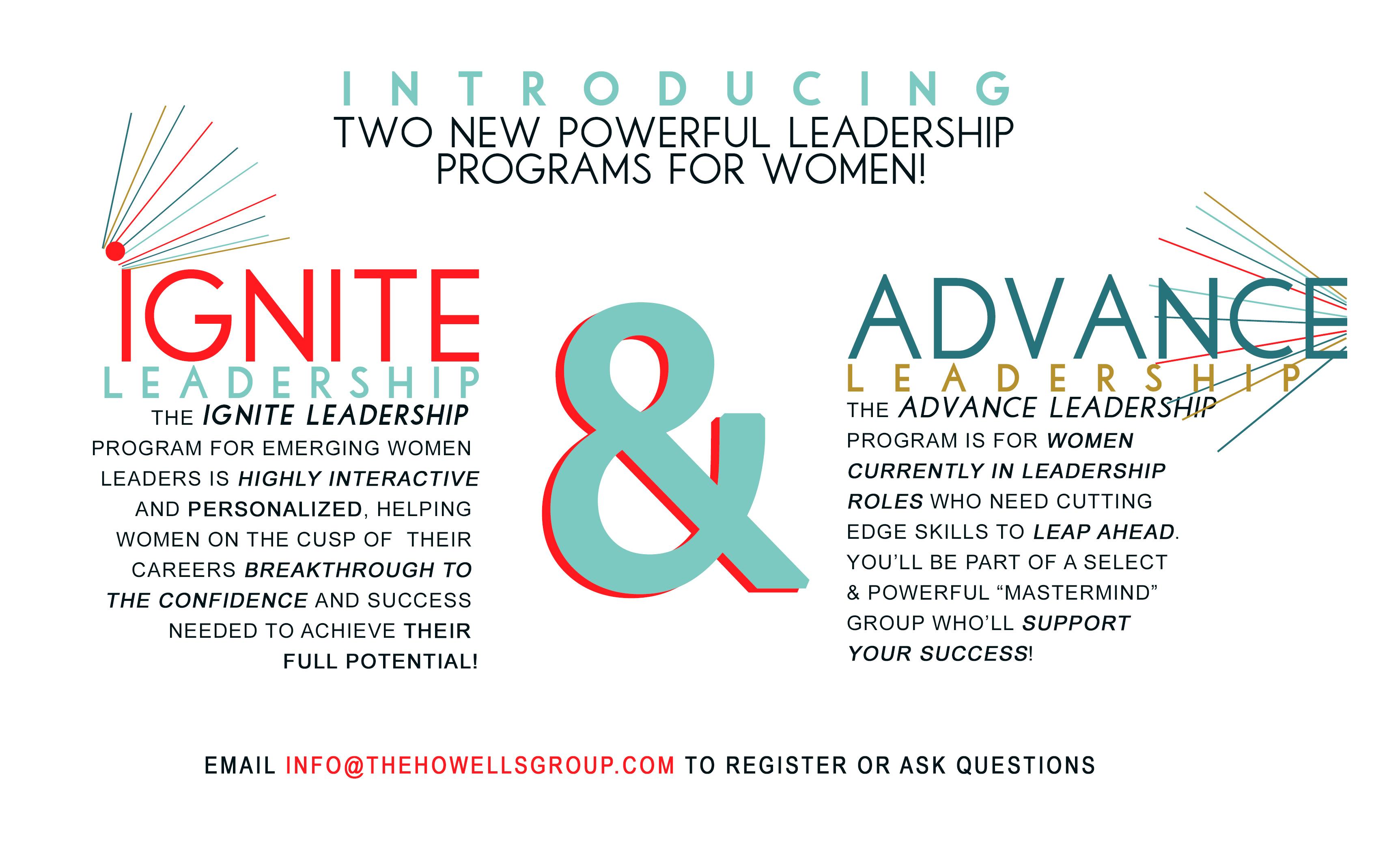leadership Program, Women, Ignite Advance, expand your leadership, leadership agility, workshop, seminar, program, Oregon, womens leadership, Portland Oregon