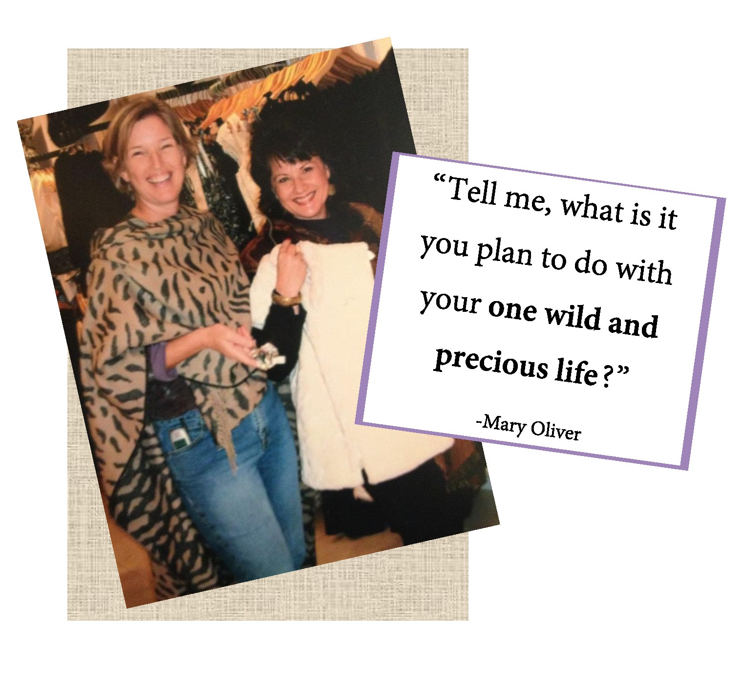 mary oliver, quote about life, life well lived, love, friendship, cancer, colon cancer, Jenni Harwell, Jennifer Harwell Art