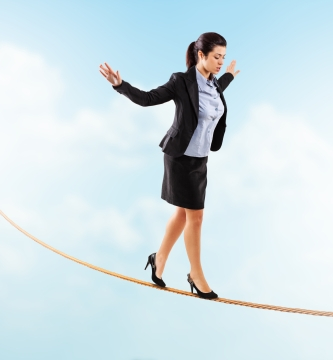 balancing, tightrope, article on balance, article on influence, article on manipulation,